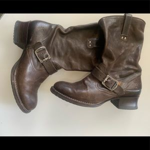 """12"""" Veronica slouch boots"""